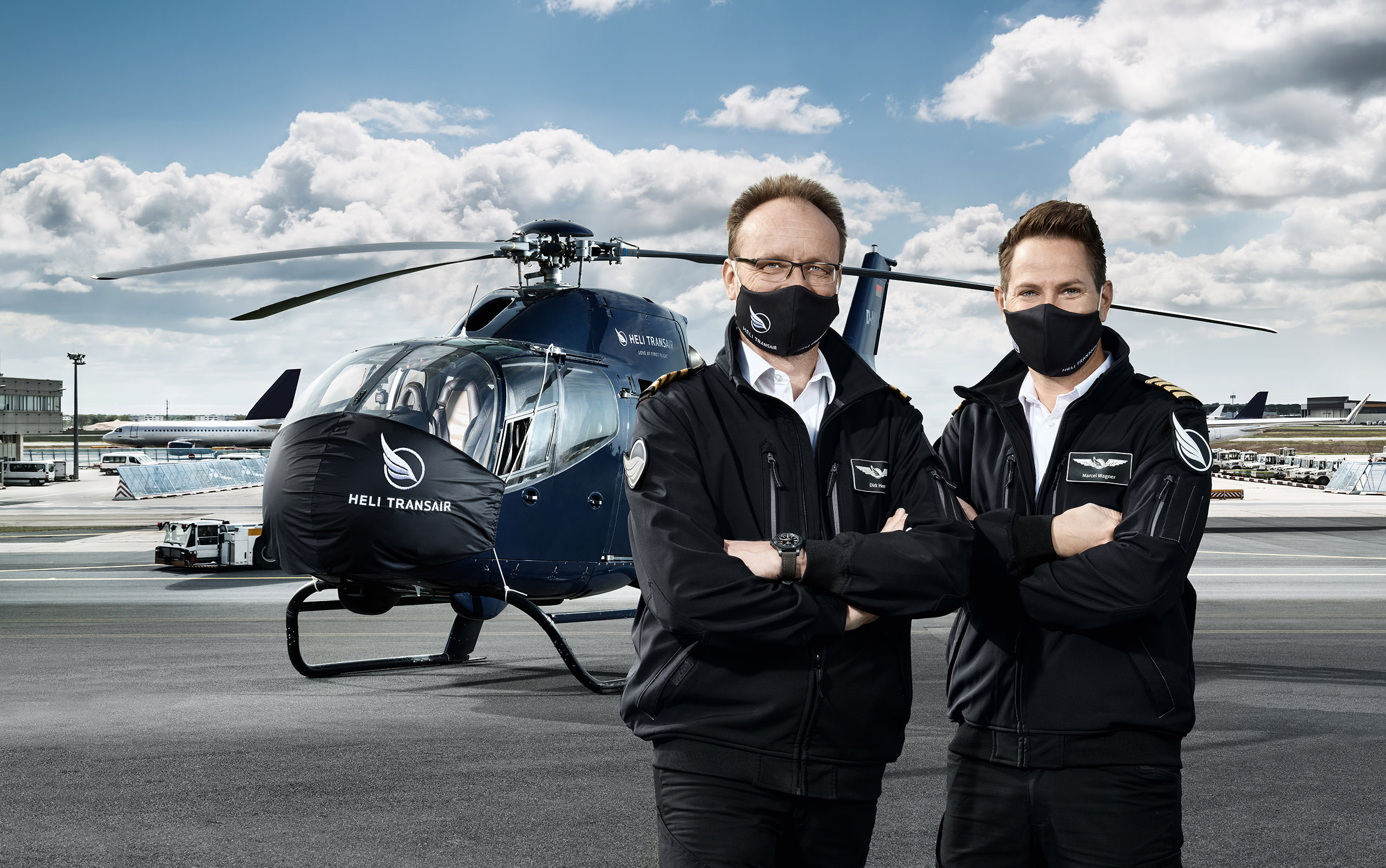 Mit Heli Transair in der sichersten First Class reisen